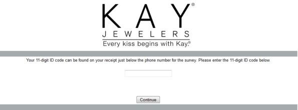 Kay Jewelers Customer Satisfaction Survey