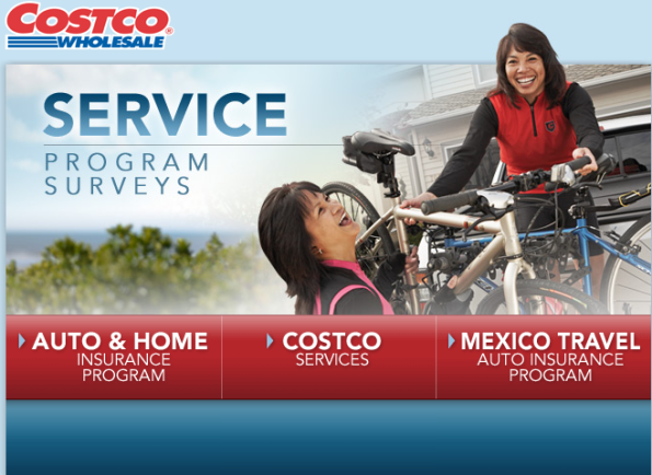 Costco Services Program Surveys