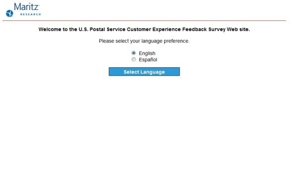 USPS Customer Experience Feedback Survey