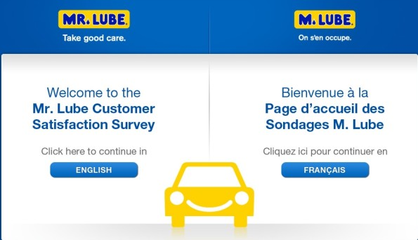 Mr. Lube Customer Satisfaction Survey