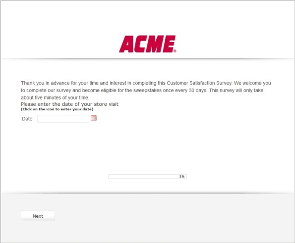 ACME Customer Satisfaction Survey
