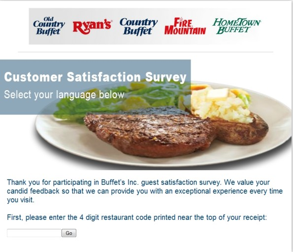 Buffet Customer Satisfaction Survey
