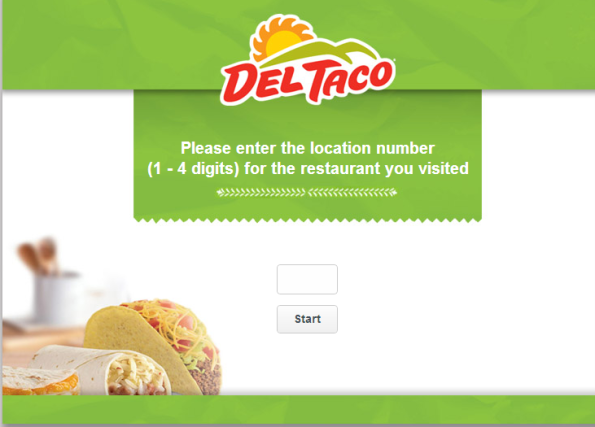 Del Taco Customer Satisfaction Survey