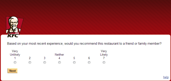 KFC Customer Satisfaction Survey
