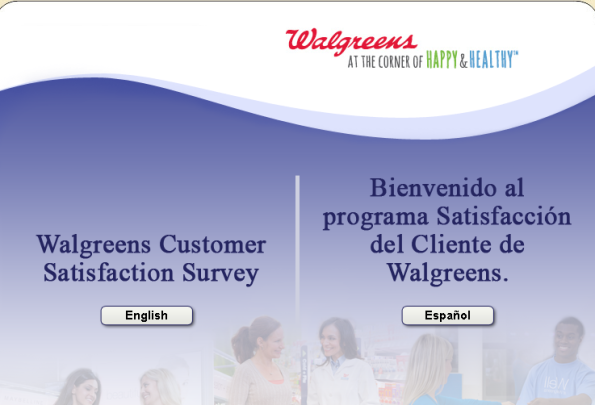 Walgreens Customer Satisfaction Survey