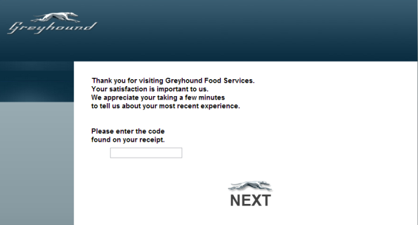 Greyhound Customer Satisfaction Survey