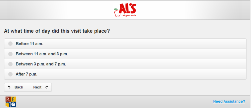 AL's Customer Satisfaction Survey