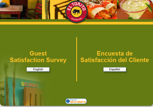 El Torito Customer Satisfaction Survey