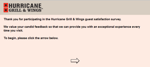 Hurricane Grill & Wings Customer Satisfaction Survey