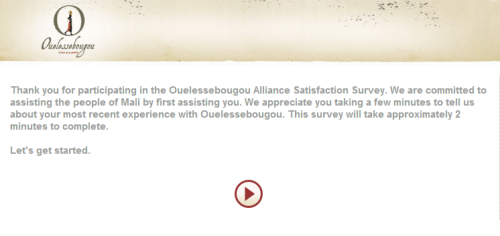 Ouelessebougou Alliance Satisfaction Survey