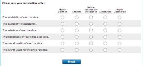 Piercing Pagoda Customer Satisfaction Survey