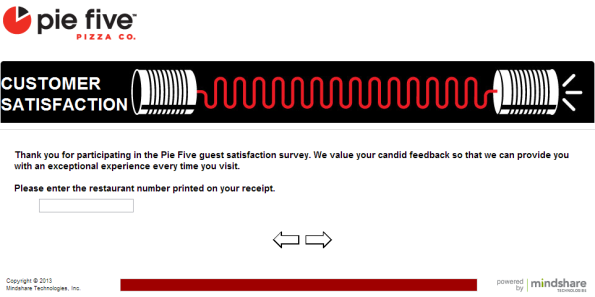 Pie Five Pizza Customer Satisfaction Survey