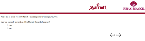 Marriott Customer Feedback Survey