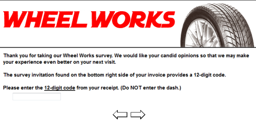 Wheel Works Customer Satisfaction Survey