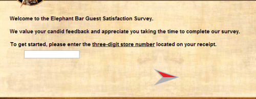 Elephant Bar Guest Satisfaction Survey