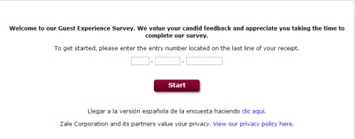 Peoples Guest Experience Survey