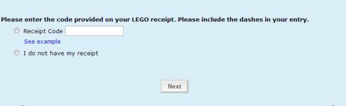 LEGO Guest Experience Survey