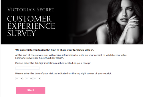Victoria's Secret Customer Survey