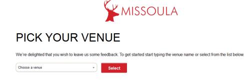 Missoula Customer Satisfaction Survey