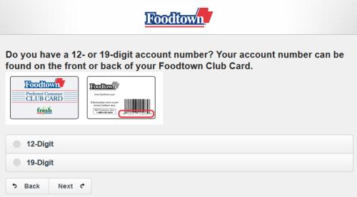 Foodtown Customer Satisfaction Survey