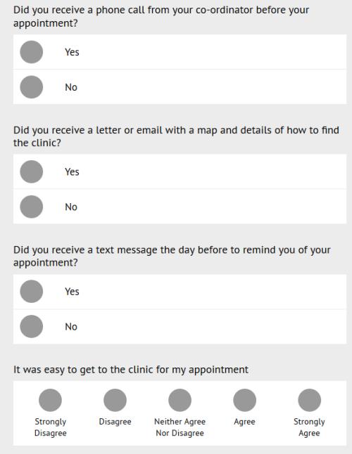 Transform Customer Feedback Survey