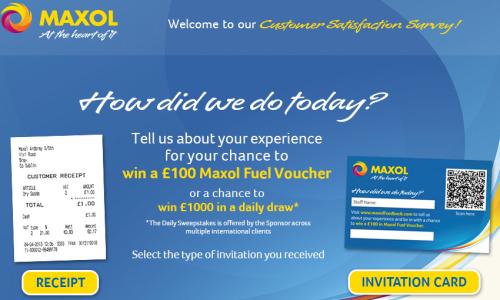Maxol Customer Satisfaction Survey