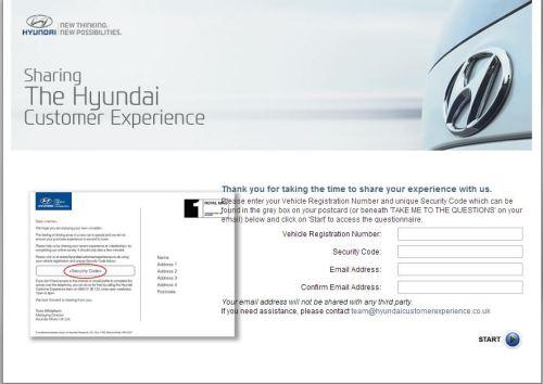 Hyundai Customer Experience Survey