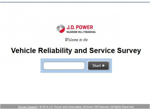 J. D. Power Vehicle Reliability and Service Survey