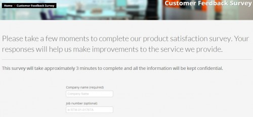 Reactiv Customer Feedback Survey