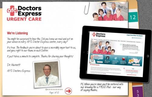 AFC Doctor Express Guest Feedback Survey