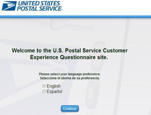 USPS Customer Feedback Survey