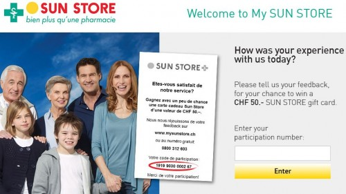 Sun Store Customer Satisfaction Survey