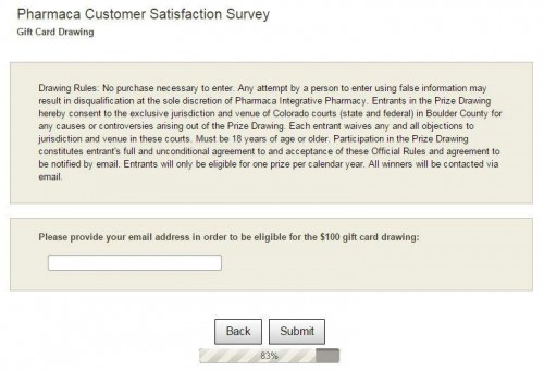 Pharmaca Customer Satisfaction Survey