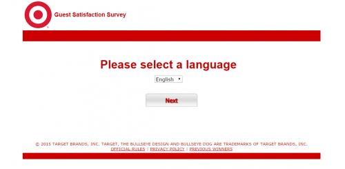 Target Guest Feedback Survey