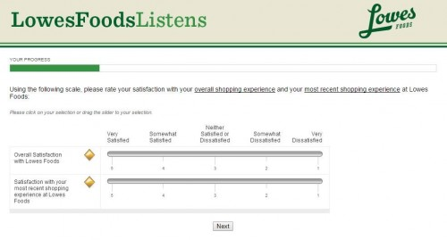 Lowes Foods Customer Satisfaction Survey